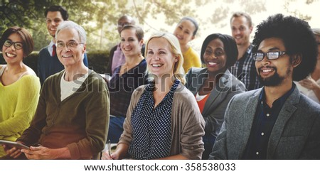 Conference Meeting Seminar Collaboration Audience Concept #358538033