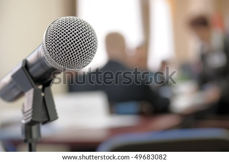 Conference Room Microphone.