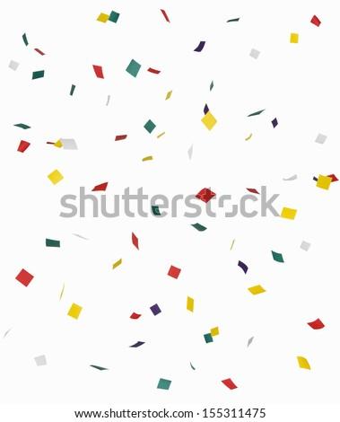 Confetti - Shutterstock ID 155311475