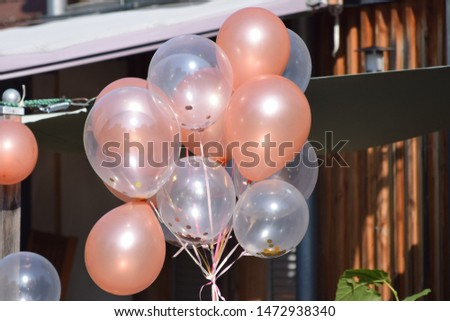 Confetti balloons at a Partylocation #1472938340