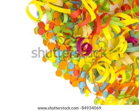 confetti decoration