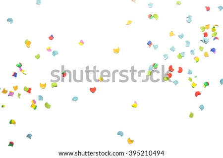 Confetti on the floor #395210494