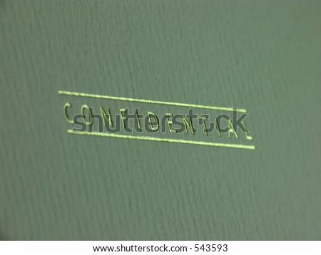 Confidential folder - stock photo