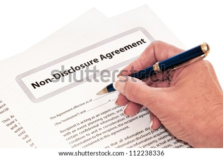 Confidentiality agreement for protection of company secrets.