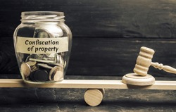 Confiscation of capital and property concept. Malicious tax evasion. Criminal case and damages to the state. Dirty money. Laundering of money. Nationalization of the state. Corruption, drugs.