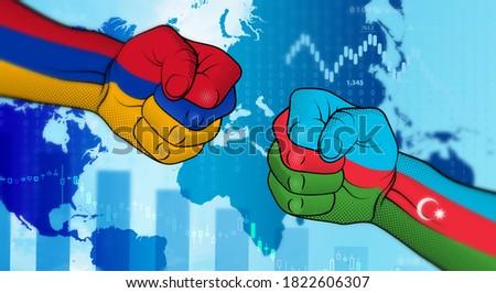 Conflict between Azerbaijan and Armenia. Azerbaijan–Armenia relations. Azerbaijan versus Armenia. Strained relations between Azerbaijan and Armenia.