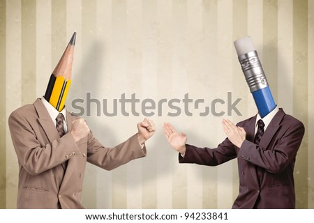 Conflict of opinion at a business meeting