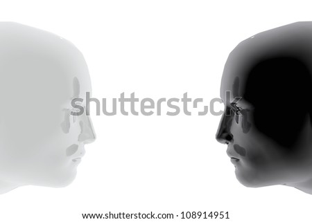 Confrontation between two persons