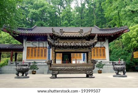 Confucian temple, Hangzhou, China