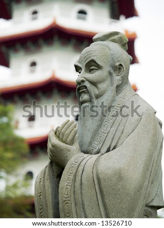 Confucius - stock photo