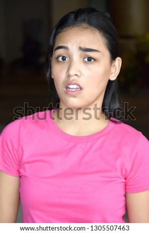 Confused Attractive Diverse Female