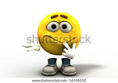 Confused Emoticon