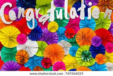 congratulations ,Greeting card #769366024