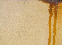 congrete orange color background with rust