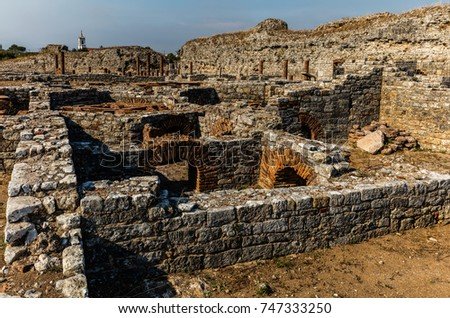 Conimbriga is one of the largest and the best preserved Roman settlements excavated in Portugal, classified as a National Monument in 1910. #747333250