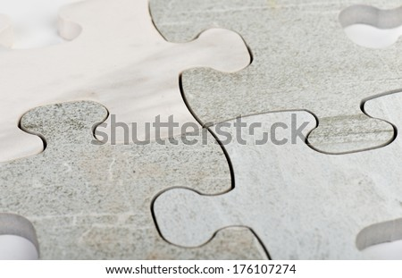 Connecting the jigsaw puzzle