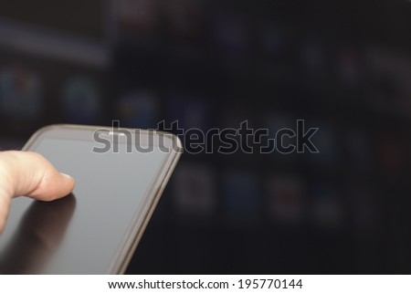 Connecting the Mobile Phone with a Television