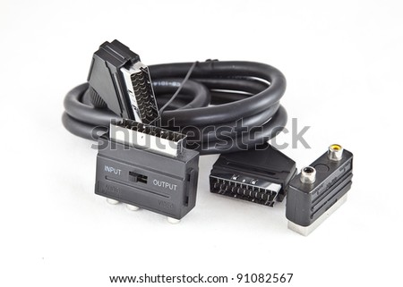 connection cable audio and video