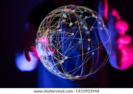 connection  composition representing the global
