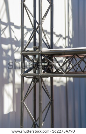 connection of metal structures in the industry
