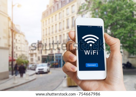 connection to public wifi...