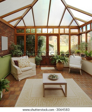 conservatory in house homes property real estate #3064583