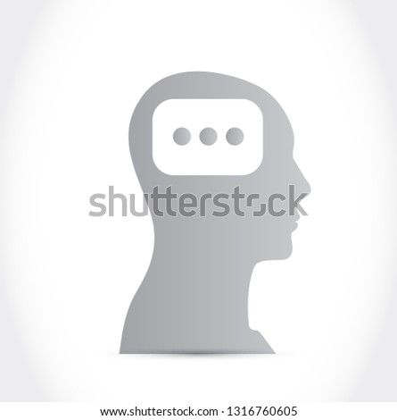 consideration icon illustration isolated over a white background