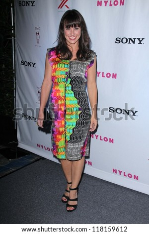Constance Zimmer at Nylon\'s September TV Issue Party, Mr. C, Beverly Hills, CA 09-15-12