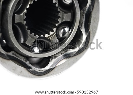 Constant velocity joints,isolated on a white background  #590152967