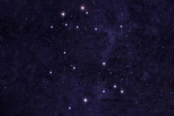 Constellation gemini Against the background of the night sky. Elements of this image were furnished by NASA.