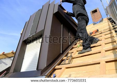 Constructing a dormer  #773601031