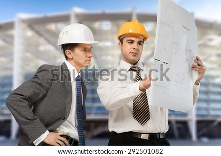 Construction, Architect, Engineer.