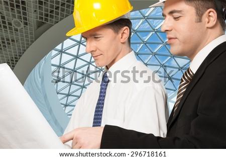 Construction, Built Structure, Blueprint.