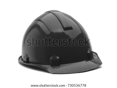 construction helmet  isolated on white background #730536778