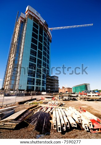 Construction in Liverpool