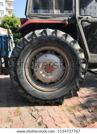 construction machinery and agricultural tractors