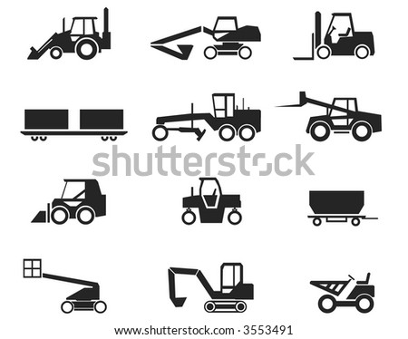 Construction Machinery Illustration Vector also available.