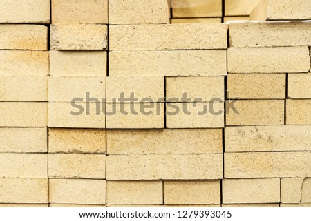 construction material - refractory material bricks #1279393045