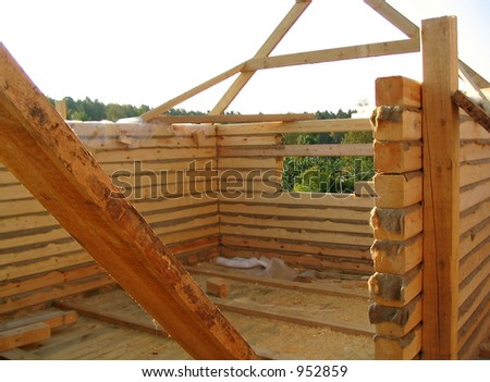 wooden house construction 2