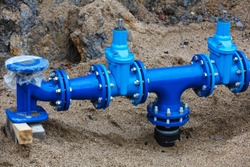 construction of a new water supply system