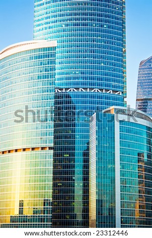 Construction of new skyscrapers in the International Business Centre, Moscow #23312446