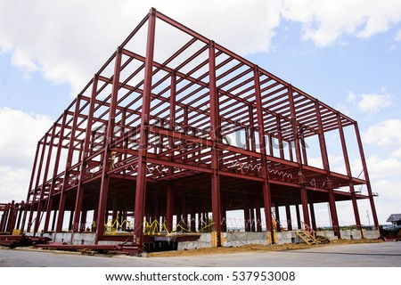 construction of structures under future production #537953008