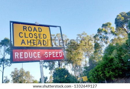 Construction Signs, Roadwork Signs