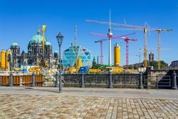 Construction site, Berlin Palace