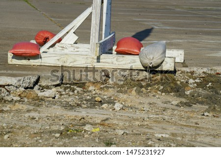 Construction Site in the City - Heavy Equipment
