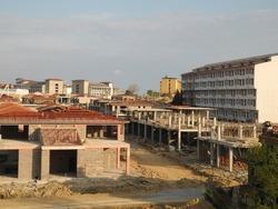 Construction site in Turkey
