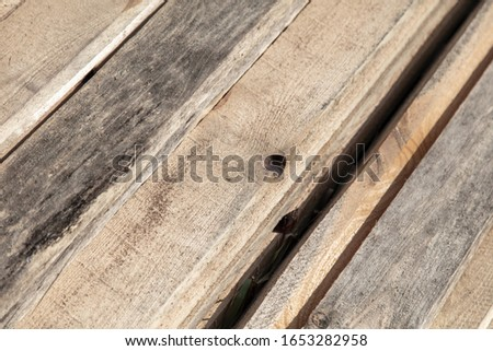 Construction site wooden planks as abstract background.