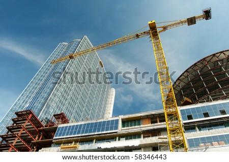 Construction work site