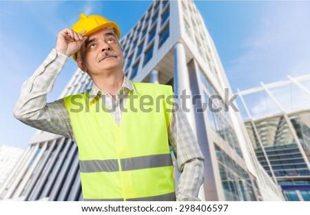 Construction Worker, Manual Worker, Helmet.