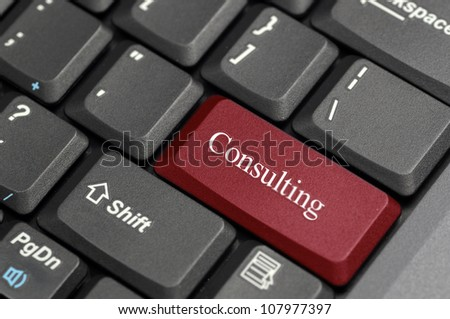 Consulting on keyboard
